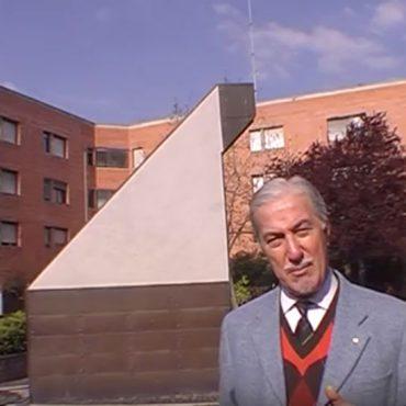 La meridiana della Corte Cielo a Bologna